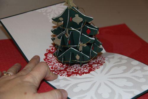 Fabulous Pop-up Christmas Tree Card...